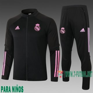 7-Futbol: Chandal Niño Real Madrid Negra 2020 2021 E510