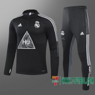 Chandal Futbol Real Madrid negro - Co-brande + Pantalon 2020 2021 T81