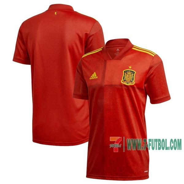 Vender Nuevas Primera Camisetas De Espana Hombre Eurocopa 2020 2021 Tailandia Baratos